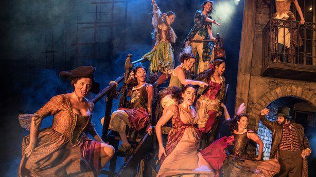 Musical Les Miserables estreia em Dublin durante tour mundial. Foto: RTE