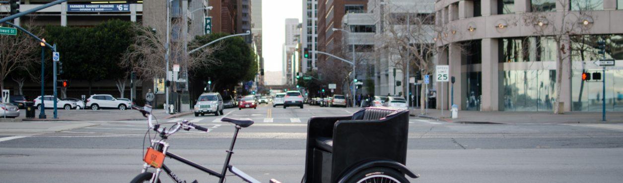 Irlanda vai regulamentar trânsito de Rickshaws em Dublin