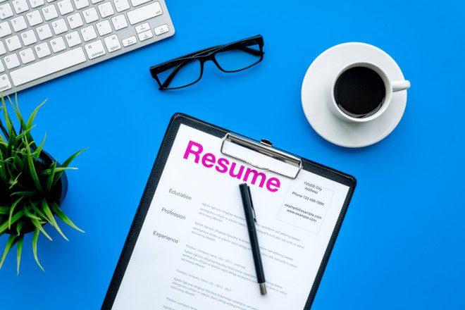 Na Irlanda você vai precisar de um CV para funções diferentes. © 9dreamstudio | Dreamstime.com