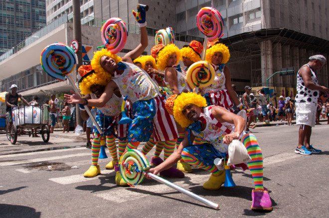 Carnaval de rua do Rio deve atrair milhares de pessoas. Foto: Dabldy | Dreamstime