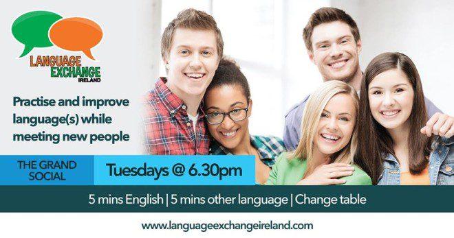 Evento é oportunidade para conhecer pessoas novas e aprender novo idioma. Foto: Facebook