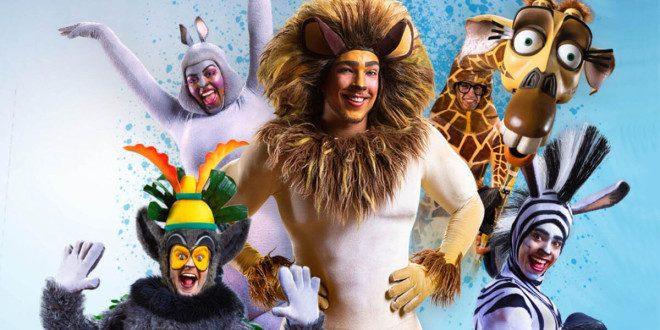 Musical Madagascar estreia em Dublin. Foto: Dublin.ie