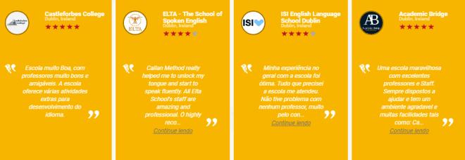 Você tanto pode pesquisar por escolas, como avaliar a sua no site da Popinschool. Reprodução