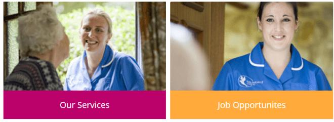 Bluebird é uma das agências que contrata profissionais da área de saúde na Irlanda. Foto: Reprodução