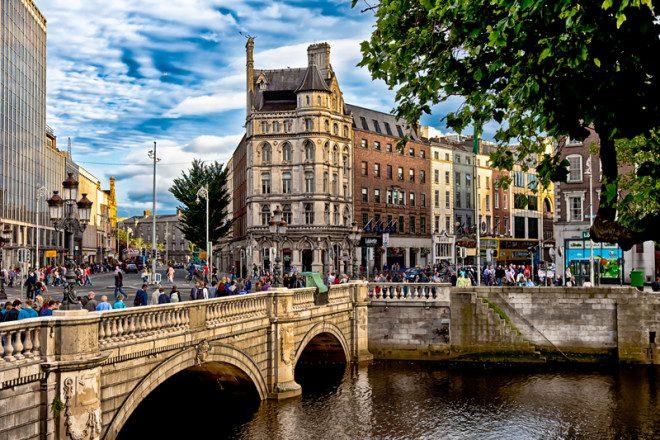 Dublin é eleita uma das melhores cidades do mundo para se morar segundo expatriados europeus. Foto: Ian Whitworth | Dreamstime