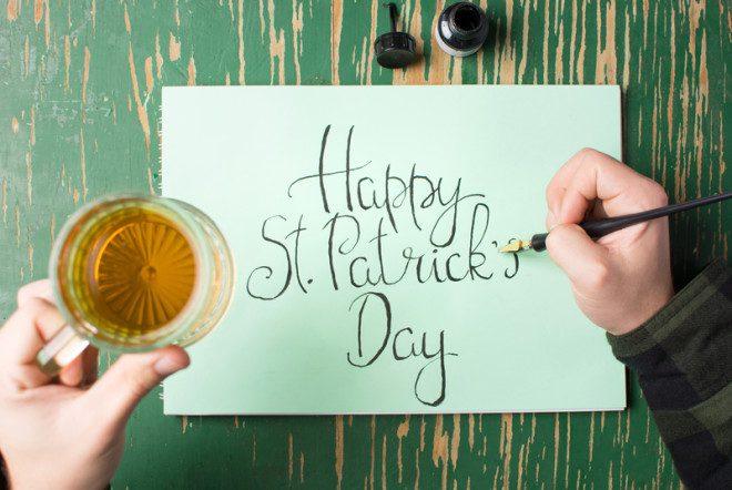 St Patrick Day o dia mais festivo na Irlanda. © Saletomic - Dreamstime.com