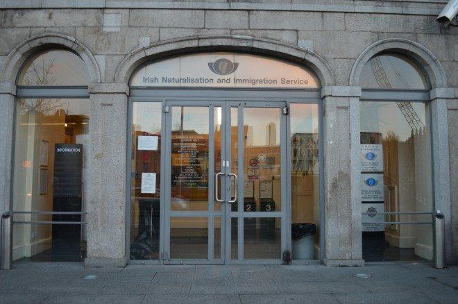 INIS, atualmente em Dublin o agendamento é realizado online. Foto: asylumarchive