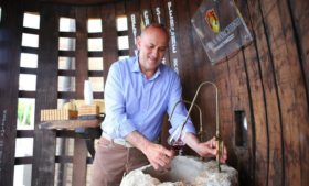 Adega cria fonte de vinho grátis na Itália