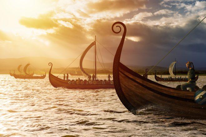 Vikings chegaram à ilha e começaram erguer construções, além dos muros que cercavam a cidade.© Vlastas | Dreamstime.com