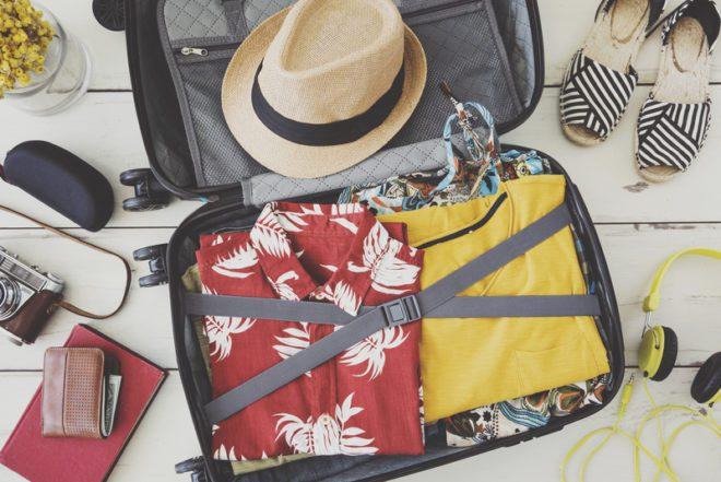 Aproveite bem as divisões de sua mala.© Sebnem Ragiboglu | Dreamstime.com