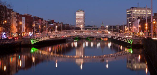 Dublin, capital originalmente fundada pelos vikings.© Attila Tatár | Dreamstime.com
