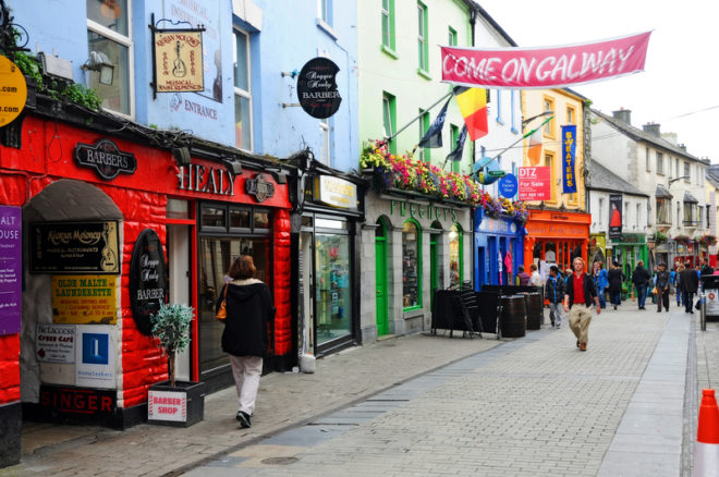 Galway é uma das alternativas de intercâmbio no interior do país.© Gunold | Dreamstime.com