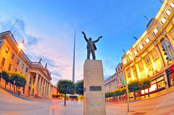 Morar no centro de Dublin tem suas vantagens.© Laurentiu Iordache | Dreamstime.com