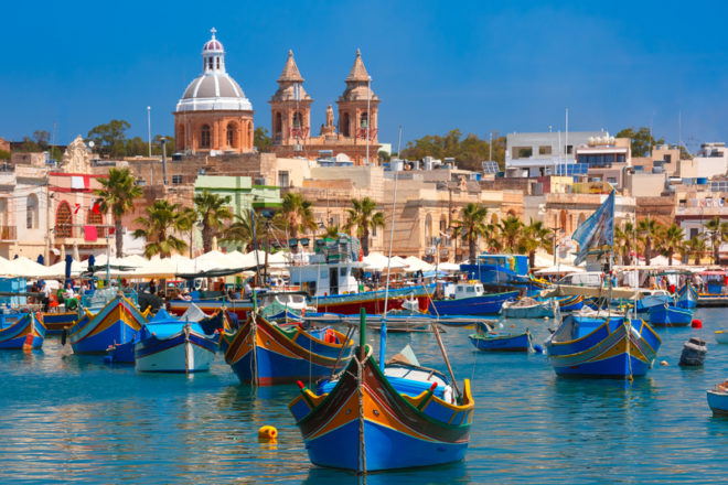 Programas de intercâmbio em Malta.© Olgacov   Dreamstime.com