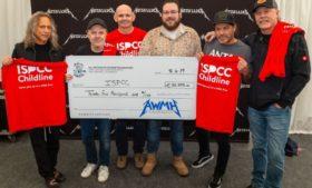 Metallica doa 70 mil euros a instituições de caridade em Dublin