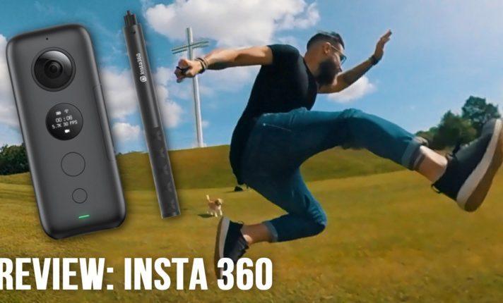 Review da câmera Insta360 OneX