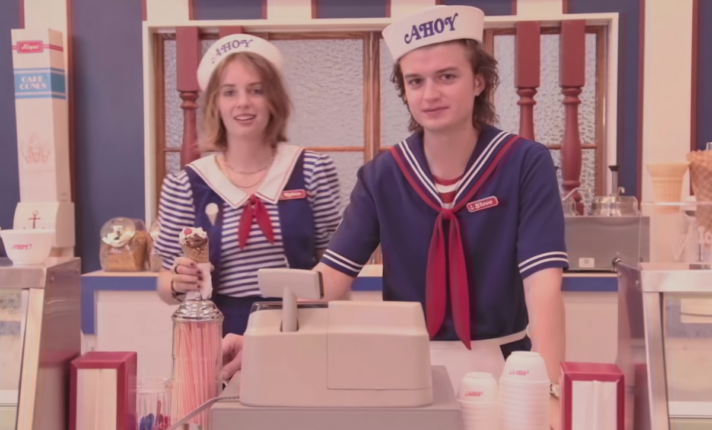 Sorveteria de Stranger Things chega a Dublin