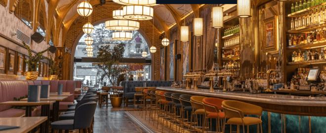 Café em Seine deu uma modernizada, mas continua um must visit em Dublin. Reprodução: Café en Séine