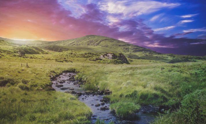 Julho irlandês começa com sol e calor