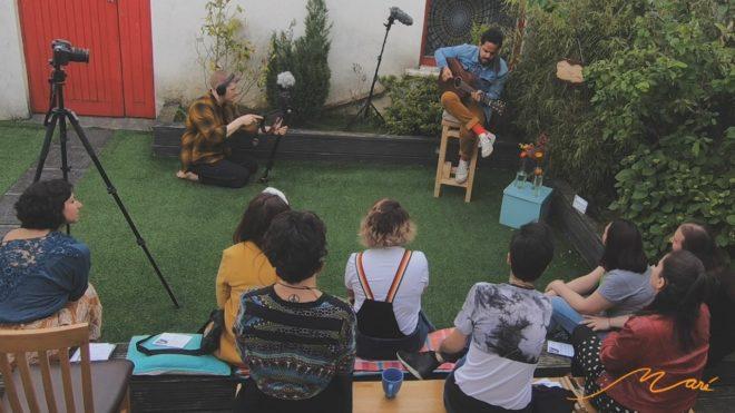 Projeto Sarau Maré reune artistas brasileiros em Dublin. Foto: Divulgação