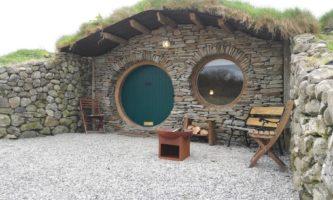 'Casa do Hobbit' está disponível para locação na Irlanda