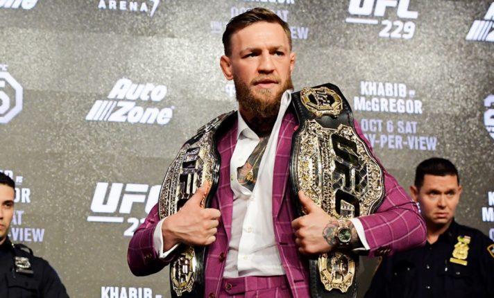 Forbes inclui Conor McGregor na lista dos astros do esporte mais poderosos