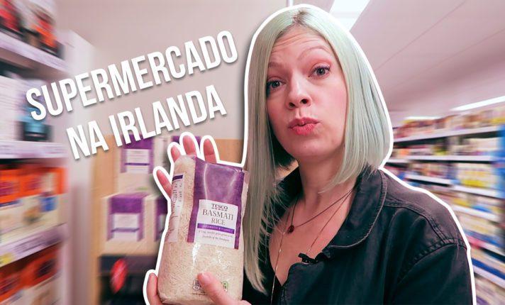 Compras de supermercado na Irlanda 2019