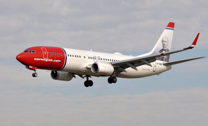 Norwegian Air cancela rotas entre Irlanda e América do Norte