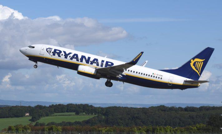 Ryanair anuncia sete novas rotas na Irlanda
