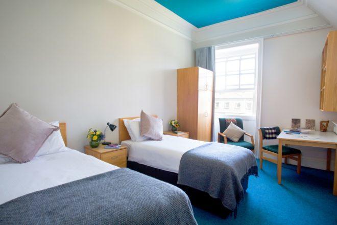 Preços de quartos individuais e duplos na Trinity College dependem do tipo de apartamento. Foto: Divulgação