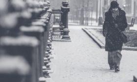 Semana começa com vento e neve na Irlanda