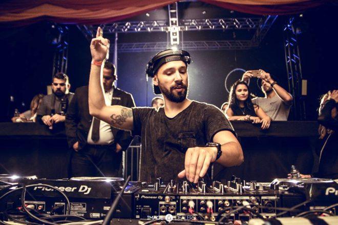 Bruno Be, um dos djs/produtores mais importantes do Brasil, agita evento na Irlanda. Foto: Image Dealers