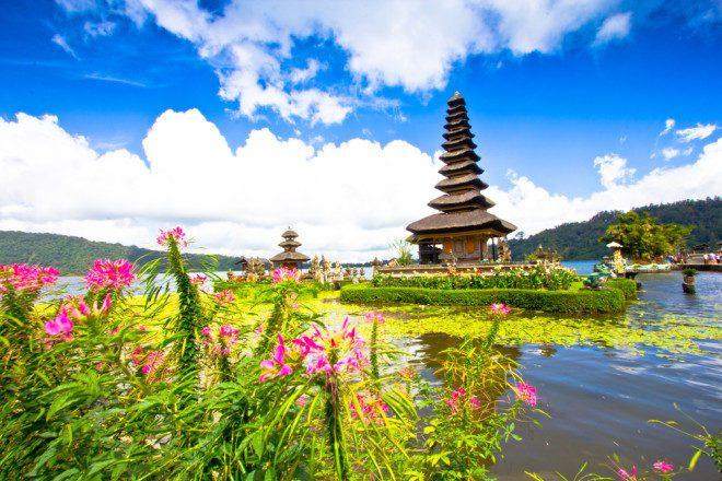 Morar em Bali, na Indonésia garante contato com a natureza e espiritualidade. Shutterstock