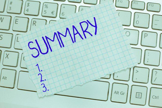Faço um pequeno resumo de seu currículo para ajudar o recrutador na avaliação.© Artur Szczybylo | Dreamstime.com