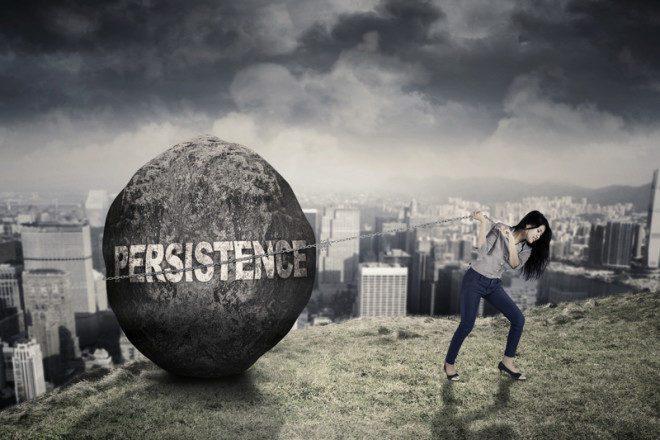 Persististe, sempre existirá uma vaga disponíveis.© Paulus Rusyanto | Dreamstime.com