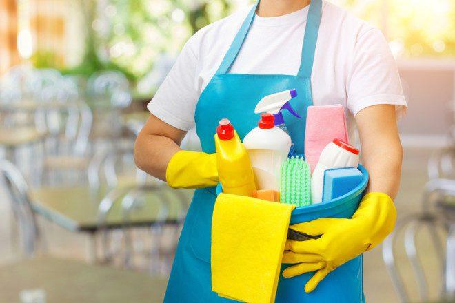 Na Irlanda o trabalho de cleaner é super popular entre os estudantes.© Nataliia Mysik | Dreamstime.com