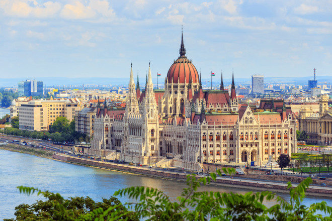 Budapeste, capital da Hungria. Foto: Shutterstock
