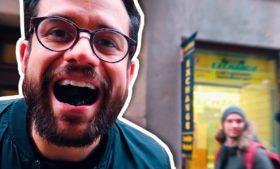 Brasileiros reagindo à balinha exótica na Suécia