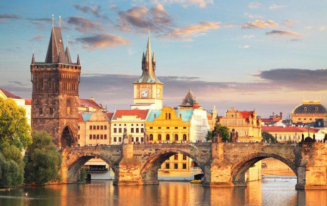 Praga é uma cidade fascinante. Foto: Shutterstock