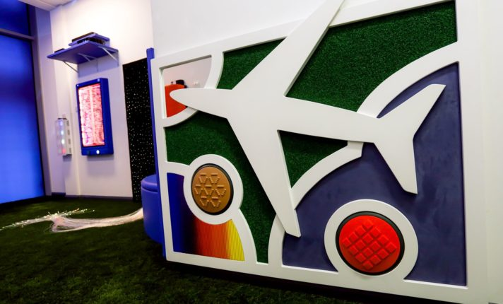 Aeroporto de Dublin abre espaço sensorial para passageiros com necessidades especiais