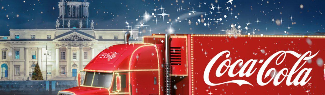 Caminhão de Natal da Coca-Cola faz turnê na Irlanda