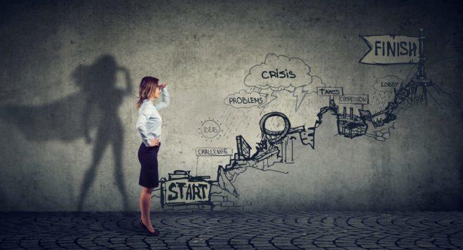 Hora de dar novos rumos à sua carreira profissional. Como dar o primeiro passo. © Kiosea39 | Dreamstime.com