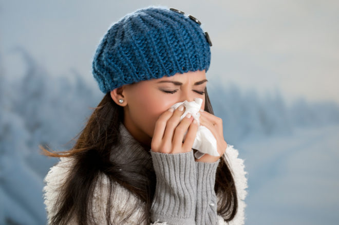 O clima frio favorece várias doenças temporais.© Rido | Dreamstime.com