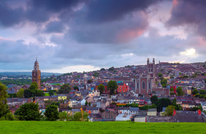A cidade de Cork é uma das principais escolhidas por estrangeiros para viver na Irlanda. ©Michael Walsh Dreamstime.com
