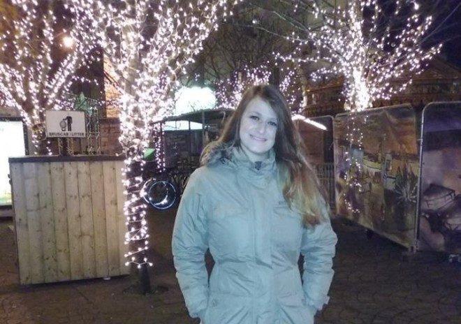 Rebecca mora em Galway e fica super nostágica no Natal. Crédito: Arquivo Pessoal