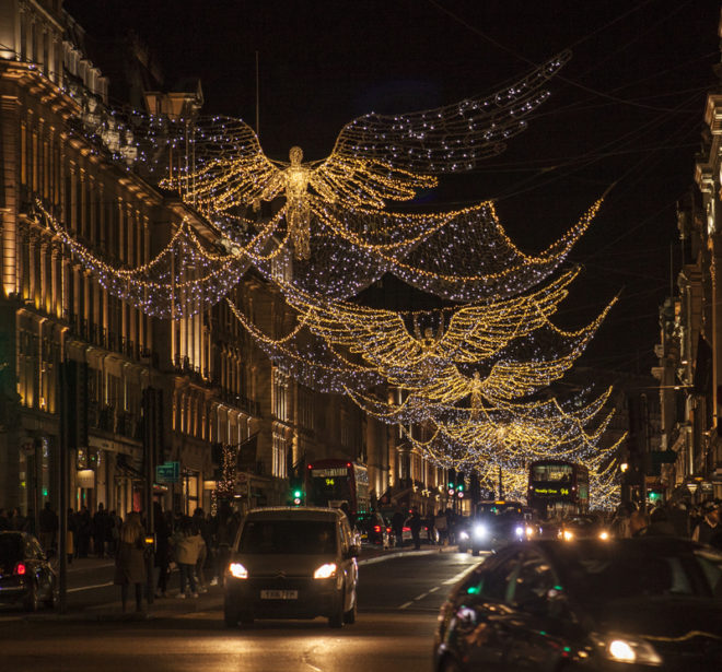Na Inglaterra o Natal é pura festa. ©Barbara Pisiolek|Dreamstime.com