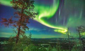 Como é a caça à Aurora Boreal na Islândia?