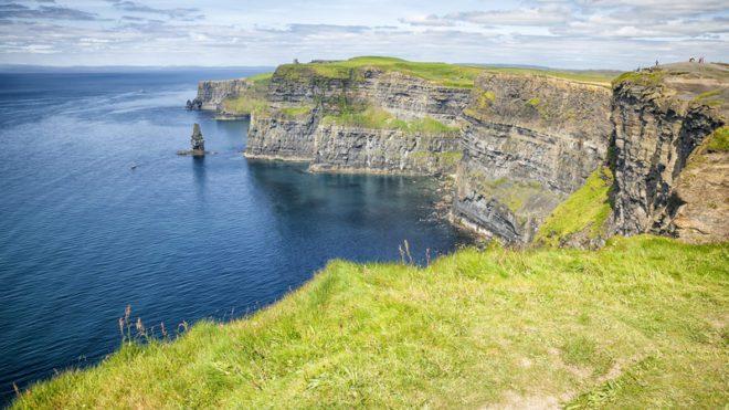 Cliffs of Moher é um dos pontos turísticos mais visitado da Irlanda© Markus Gann|Dreamstime.com
