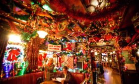 Descubra o pub mais natalino de Dublin