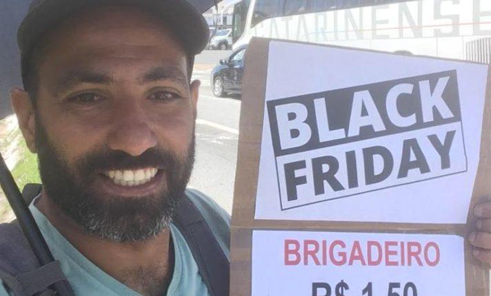 Brasileiro arrecada 20 mil reais vendendo brigadeiros para estudar na Irlanda